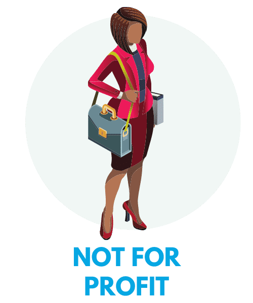 Not for profit recruitment logo